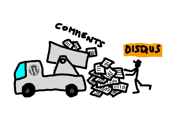 how to import comments into disqus from wordpress