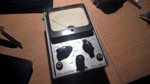 Lael tester voltmeter, vintage
