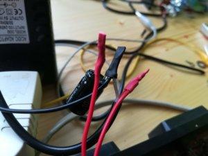 All'ingresso dell'alimentazione ho inserito il condensatore contro i picchi di corrente
